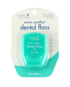 Healthy Accents Extra Comfort Dental Floss - Mint