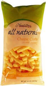 Nature's Place White Cheddar Cheese Curls