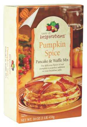 Taste Of Inspirations Pumpkin Spice Pancake & Waffle Mix