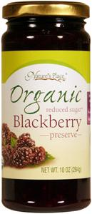 Nature's Place Organic Low Sugar Blackberry Preserves
