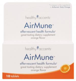 Healthy Accents Airmune Orange Flavor Tablets