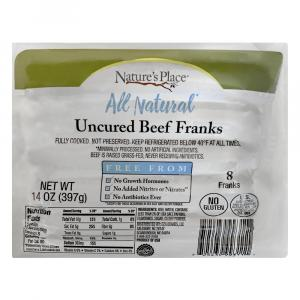 Nature's Place Uncured Beef Franks