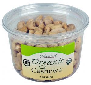 Nature's Place Organic Raw Cashews