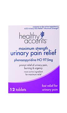 Healthy Accents Urinary Pain Relief