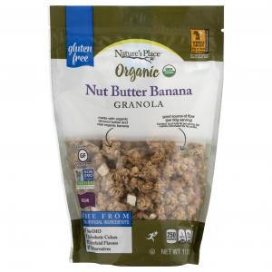 Nature's Place Organic Gluten Free Nut Butter Banana Granola