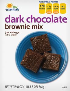 My Essentials Dark Chocolate Brownie Mix