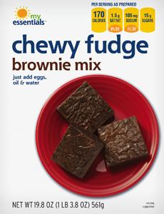 My Essentials Chewy Fudge Brownie Mix
