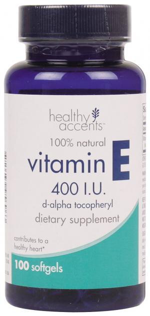 Healthy Accents Natural Vitamin E 400 I.u.