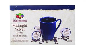 Taste Of Inspirations Midnight Velvet Coffee Cups