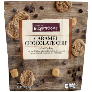 Taste Of Inspirations Caramel Chocolate Chip Mini Cookies