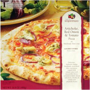 Taste Of Inspirations Artichoke, Red Onion & Tomato Pizza