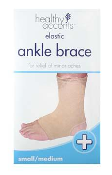 Healthy Accents Elastic Ankle Support Small / Medium