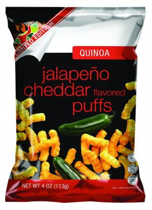 Quinoa Jalapeno Cheddar Puffs Limited Edition