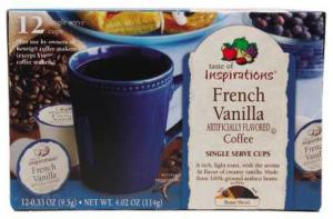 Taste Of Inspirations French Vanilla Single Serve Cups