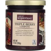 Taste of Inspirations Triple Berry Compote