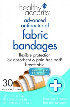 Healthy Accents Assorted Fabric Bandages