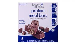 Healthy Accents Double Chocolate Protein Meal Bars