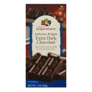 Taste Of Inspirations Belgian Extra Dark Chocolate Tablet