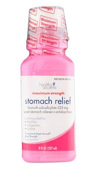 Healthy Accents Stomach Relief Maximum Strength Bismuth