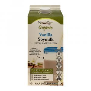 Nature's Place Organic Vanilla Soymilk