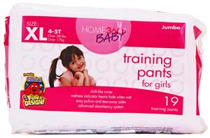 Home 360 Baby Extra Large Girl Training Pants