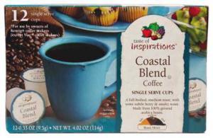 Taste Of Inspirations Coastal Coffee Single Serve Cup