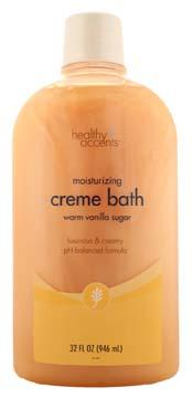 Healthy Accents Warm Vanilla Cream Bath