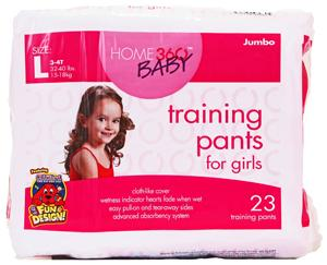 Home 360 Baby Large Girl's Training Pants