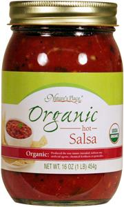Nature's Place Organic Hot Salsa
