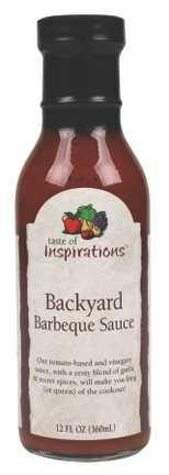 Taste Of Inspirations Backyard Bbq Sauce