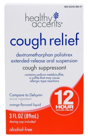 Healthy Accents Cough Suppressant