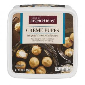 Taste of Inspirations Creme Puffs