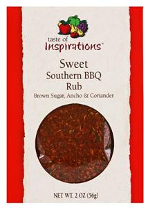 Taste Of Inspirations Sweet Southern Barbecue Rub