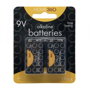 Home 360 9v Batteries