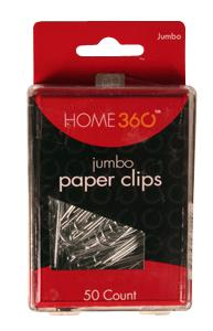 Home 360 Jumbo Paper Clips