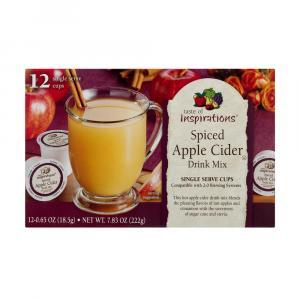 Taste Of Inspirations Spiced Apple Cider Single Serve Cups