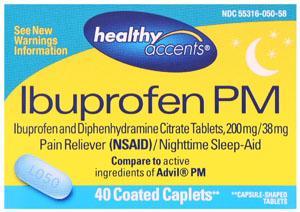 Healthy Accents Ibuprofen PM 200 mg