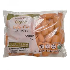 Nature's Place Organic Baby Cut Carrots Peeled