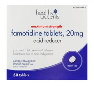 Healthy Accents Famotidine Max 20 Mg