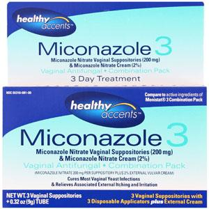 Healthy Accents Miconazole 3 Combo