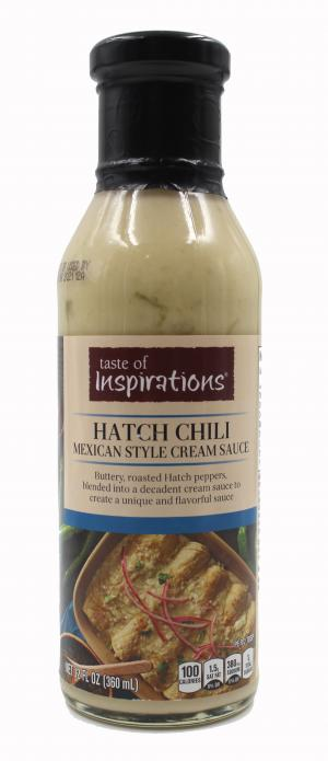 Taste of Inspirations Hatch Chili Mexican Style Cream Sauce