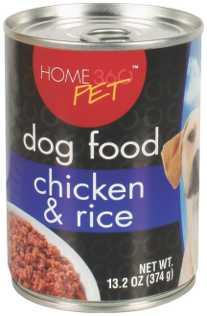 Home 360 Pet Chicken & Rice Dog Food