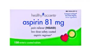Healthy Accents Low Strength Enteric Aspirin