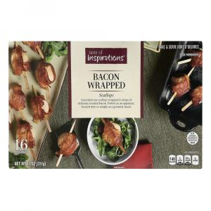 Taste of Inspirations Bacon Wrapped Scallops