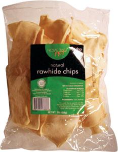 Home 360 Natural Rawhide Chips