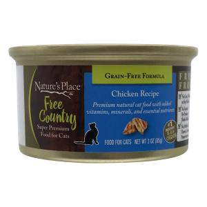 Nature's Place Free Country Chicken Recipe Cat Food