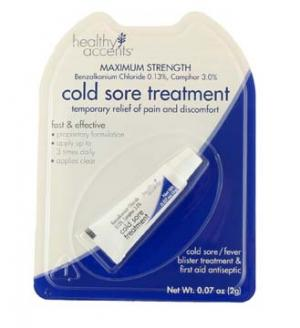 Healthy Accents Clinical Strength Cold Sore Treatment