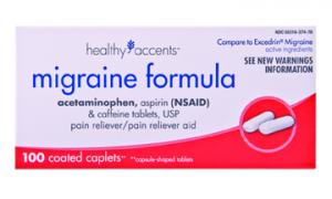 Healthy Accents Migraine Caplets