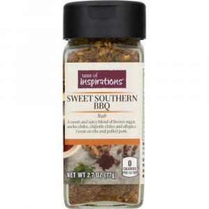 Taste Of Inspirations Sweet Southern Bbq Pork Rub