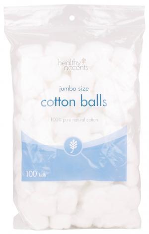 Healthy Accents Jumbo Cotton Balls